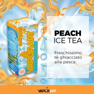 Vaporart 10ml - Peach Ice Tea