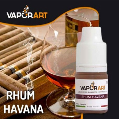 Vaporart 10ml - Rhum Havana-0mg/ml