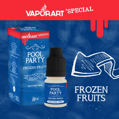 Vaporart 10ml - Special Edition - Pool Party-0mg/ml