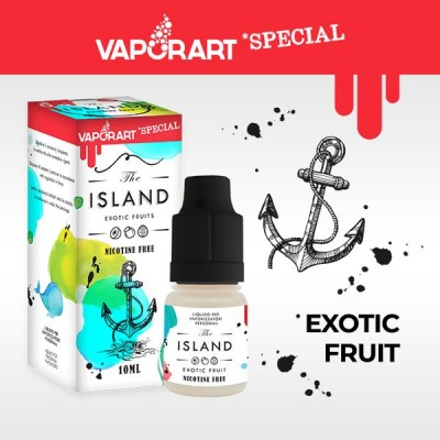 Vaporart 10ml - Special Edition - The Island-8mg/ml