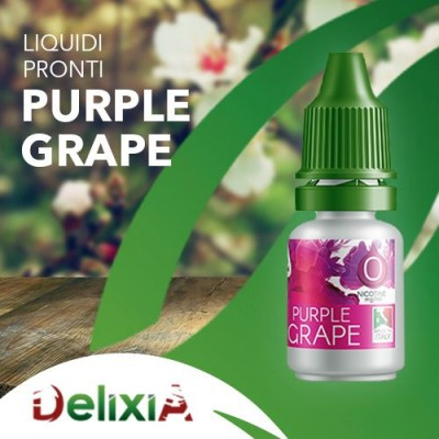 Delixia 10ml - Purple Grape-0mg/ml