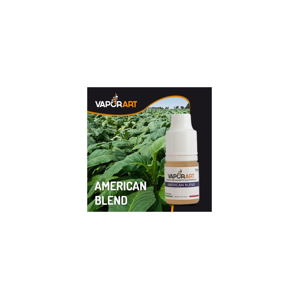Vaporart American Blend liquido pronto 10ml