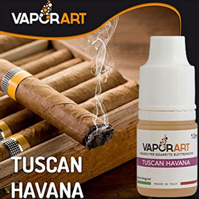 Vaporart Tuscan Havana liquido pronto 10ml