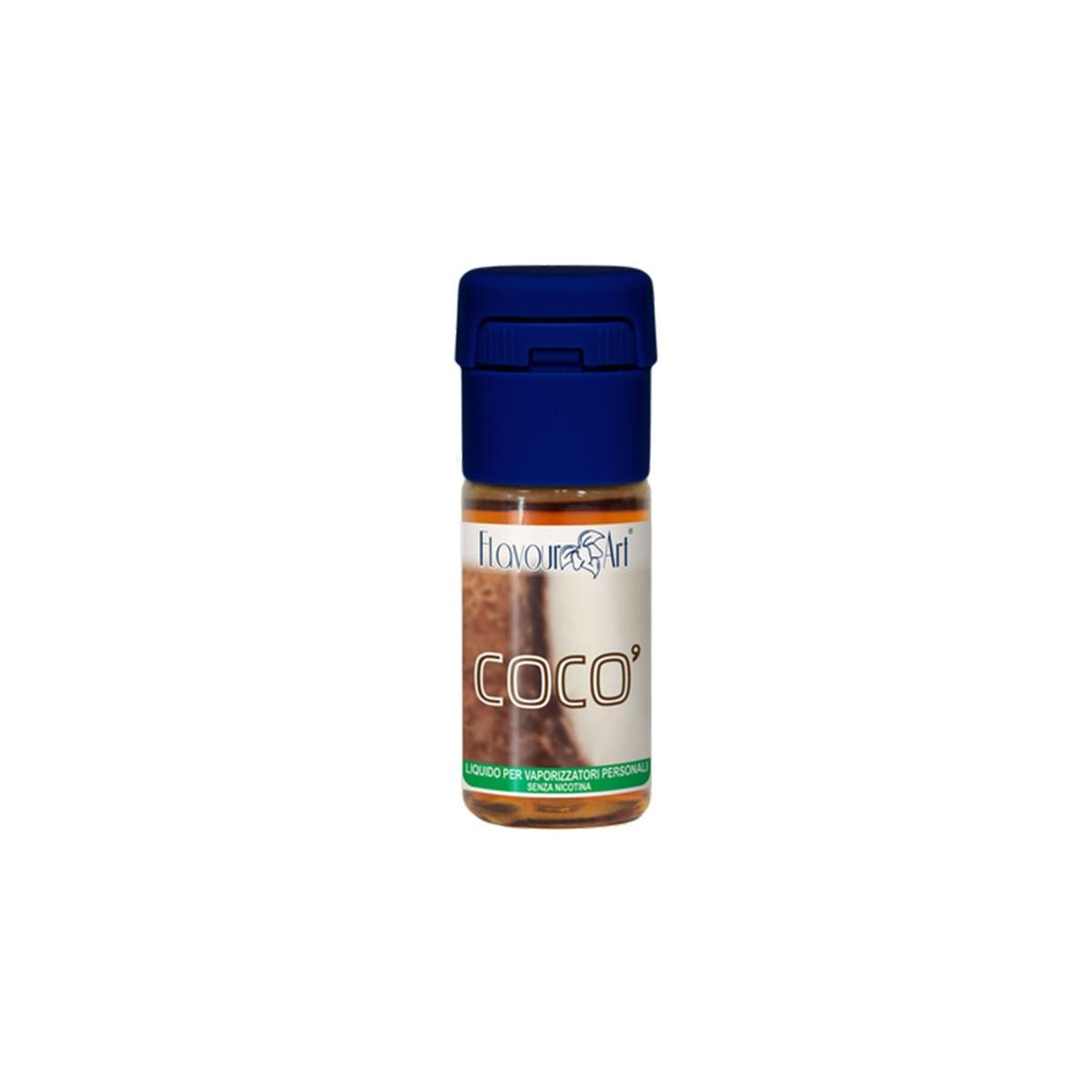 FlavourArt 10ml - Cocò-0mg/ml