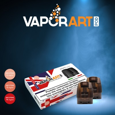Vaporart - Minifit Max Pod 1.5ml - British Tobacco (x2)-14mg/ml