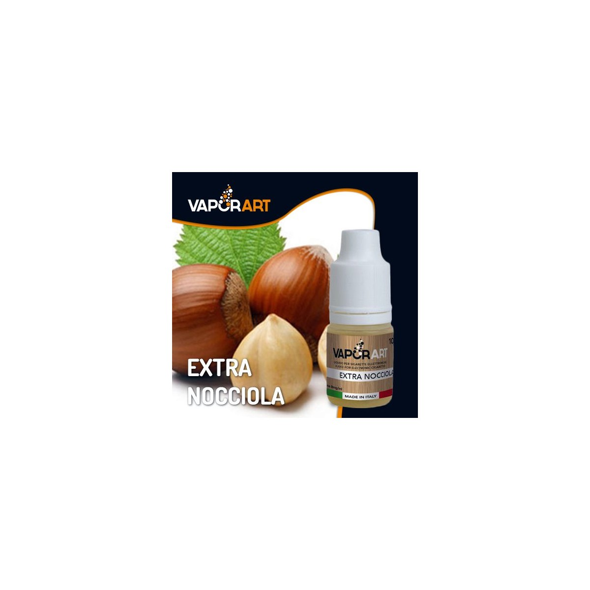 Vaporart 10ml - Extra Nocciola-0mg/ml