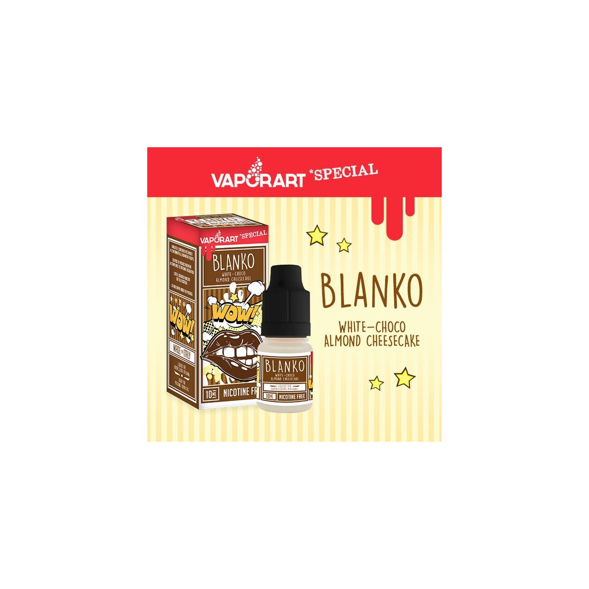 Vaporart 10ml - Special Edition - Blanko-8mg/ml