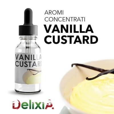 Delixia Aroma 10ml - Vanilla Custard