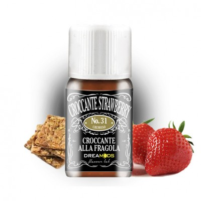 Dreamods - Aroma Concentrato No.31 Croccante Strawberry 10ml