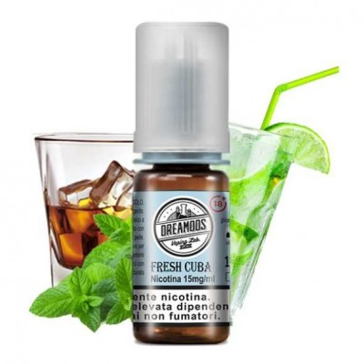 Dreamods - Liquido Pronto No.26 Fresh Cuba 10ml - 3mg/ml