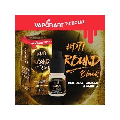 Vaporart 10ml - Special Edition - Round Black -D77-0mg/ml