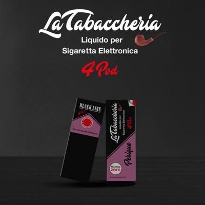 La Tabaccheria Perique Black line 4pod 10ml