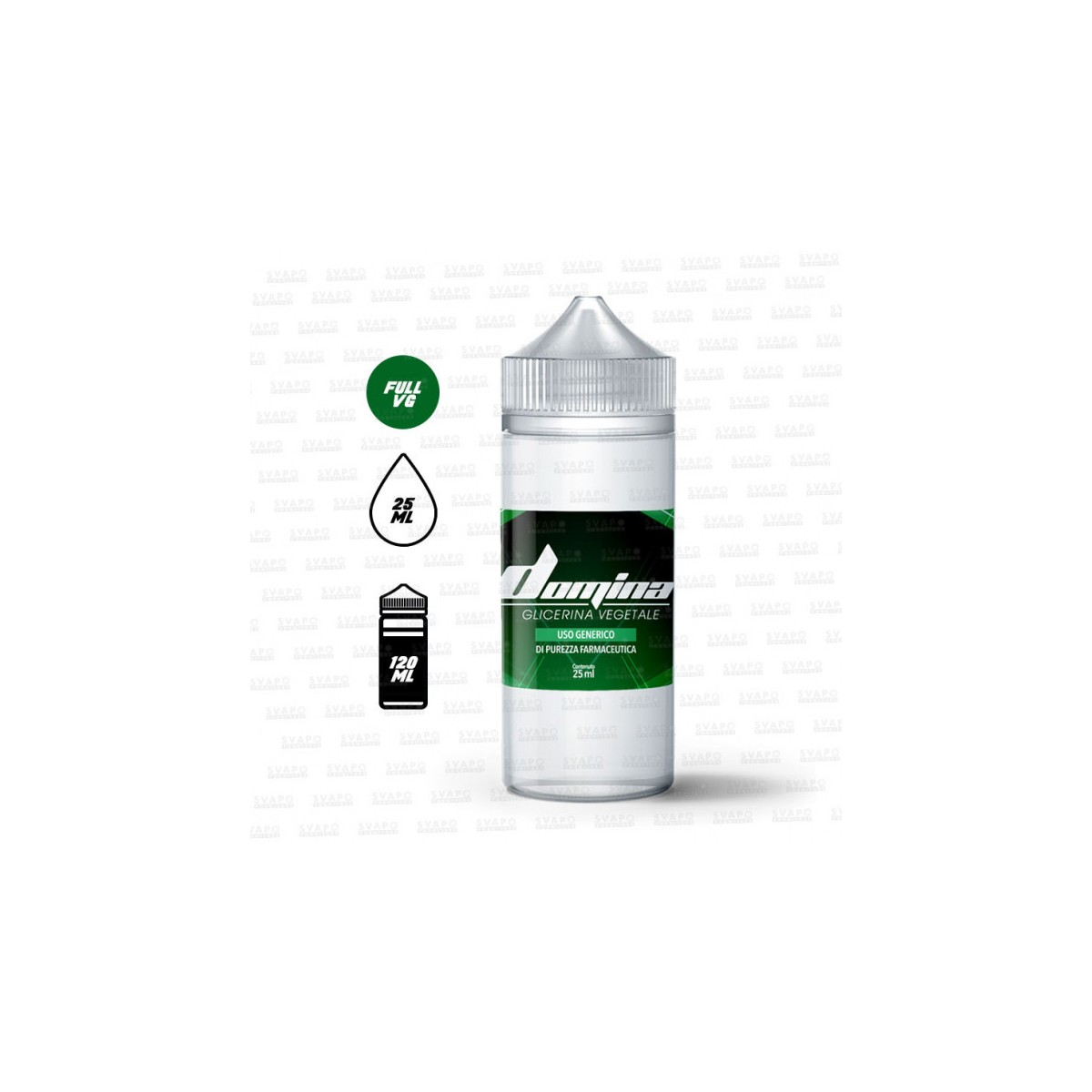 DOMINA glicerina 25ml contenuto in flacone da 120ml