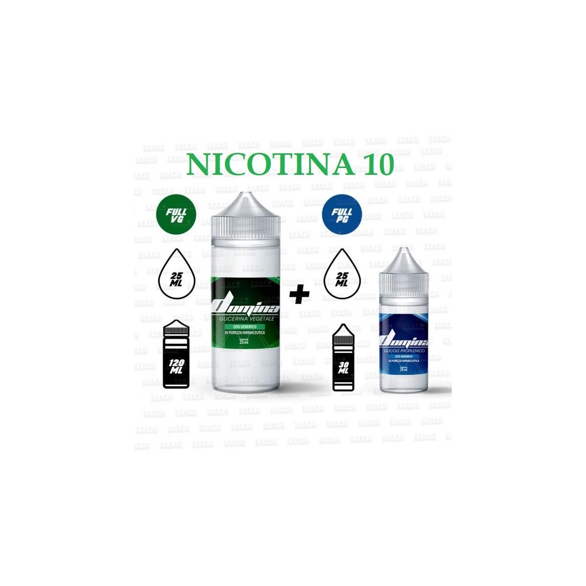 Bundle - Domina 100 Series 50/50 - 10mg/ml Nic