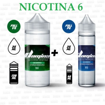 Bundle - Domina 100 Series 50/50 - 6mg/ml Nic