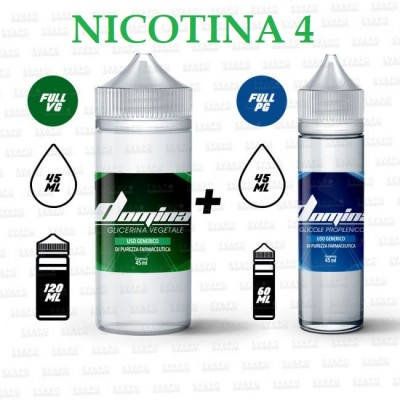 Bundle - Domina 100 Series 50/50 - 4mg/ml Nic