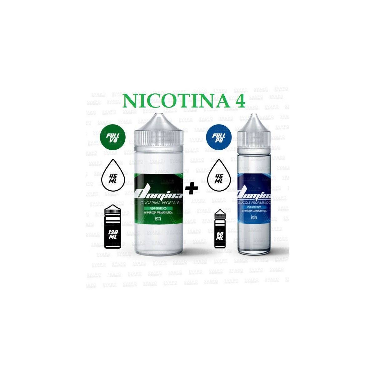 Bundle - Domina 100 Series 50/50 - 4mg/ml Nic
