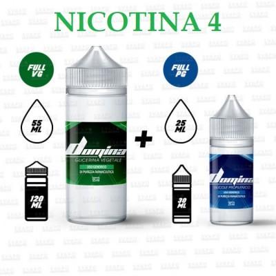 BUNDLE - Domina 100 Series 70/30 - 4mg/ml Nic