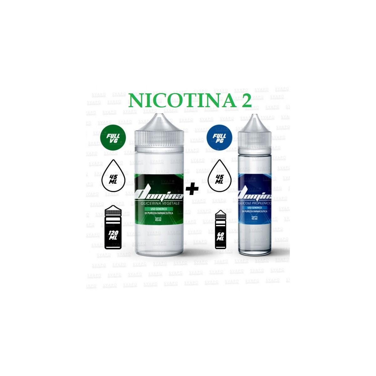 Bundle - Domina 100 Series 50/50 - 2mg/ml Nic