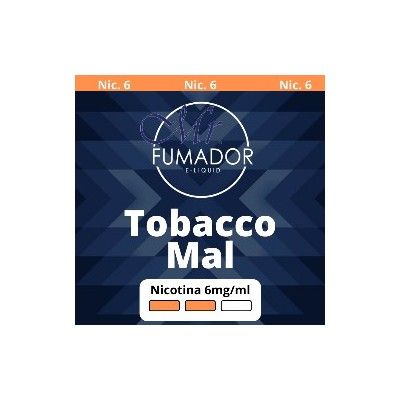 MR. FUMADOR TOBACCO MAL 6MG/ML