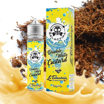 Galactika Double white custard Aroma Scomposto 20ml in flacone da 60ml