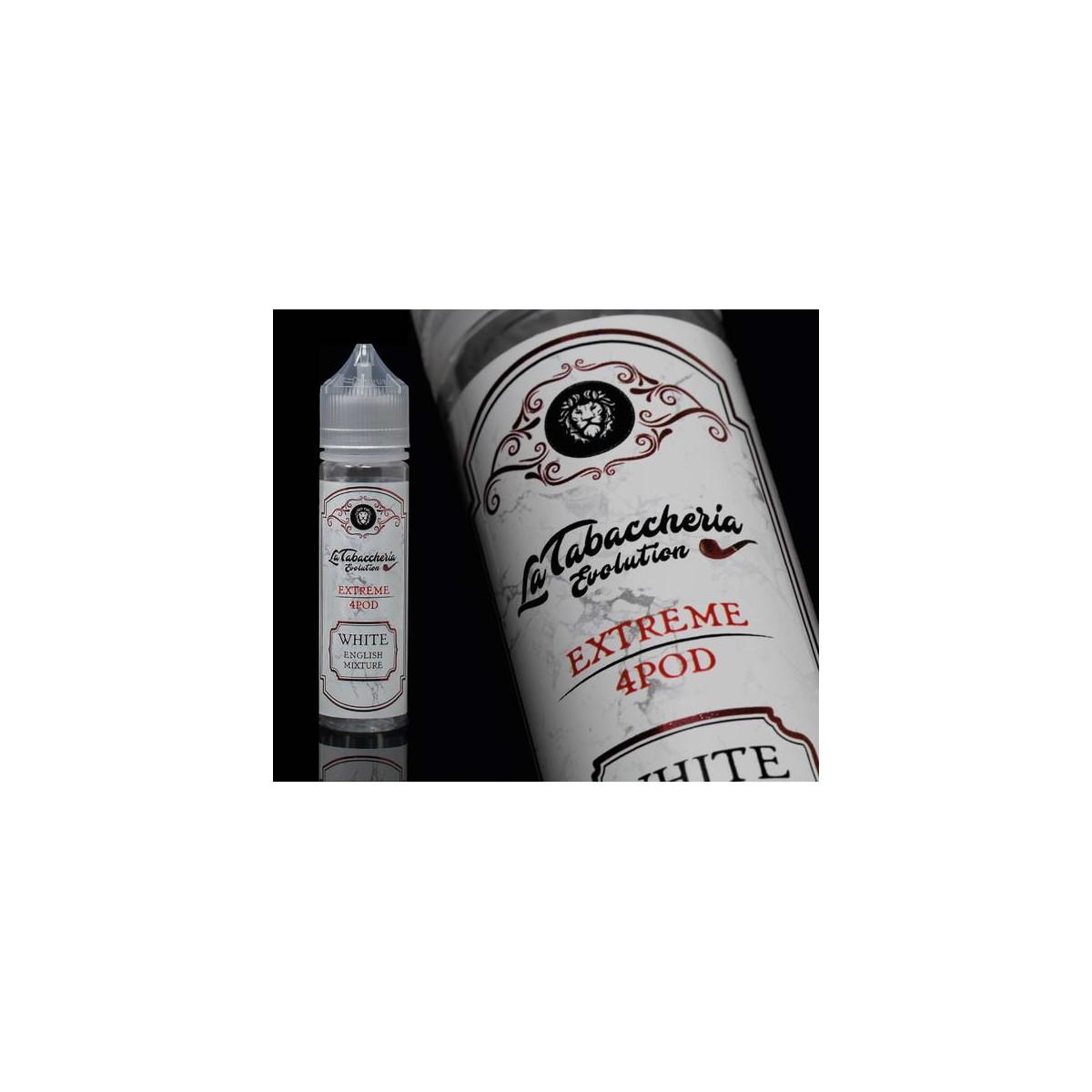 La tabaccheria White English Mixture Aroma Scomposto 20ml in flacone da 60ml
