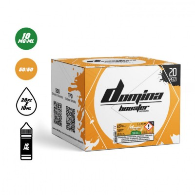 [BUNDLE PACK 20pz] Domina - Base Booster 50VG/50PG 10ml - 10mg/ml