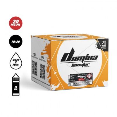 [BUNDLE PACK 20pz] Domina - Base Booster 70VG/30PG 10ml - 20mg/ml