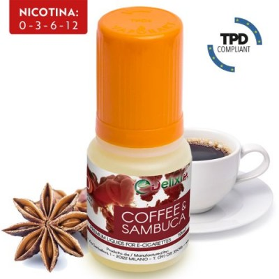 Coffee & Sambuca Delixia 10ml