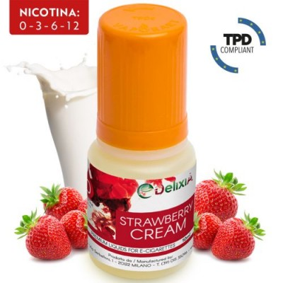 Strawberry Cream Delixia 10ml