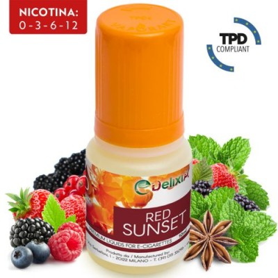 Red Sunset Delixia 10ml