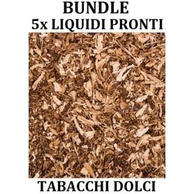 BUNDLE LIQUIDI PRONTI TABACCO DOLCE