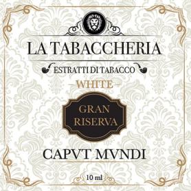 La Tabaccheria Caput Mundi Gran Riserva White 10ml
